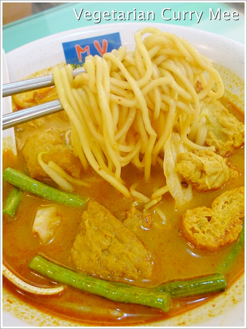 Vegetarian Curry mee