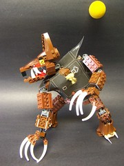 Bark at the Moon (monsterbrick) Tags: monster wolf lego puppet wolfman moc davidpagano