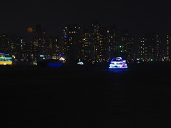 Moonrise over Shanghai