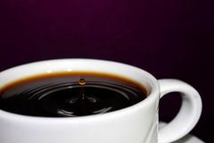 Coffee Time! (iso97) Tags: coffee drops experimental kaffee tropfen tropfenfotografie