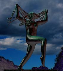 Vigeland Park [x] (askyog) Tags: sculpture oslo vigelandpark bluestblue