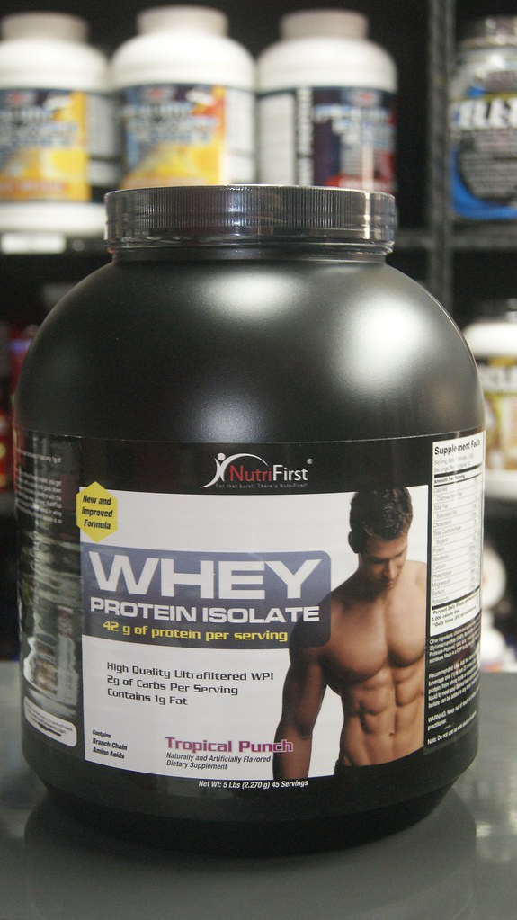 NutriFirst - Whey Protein Isolate 5 Lbs