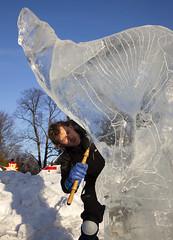 Art Meets Ice 2011 - Darren Jackson (Korkeasaaren elintarha) Tags: winter sculpture art suomi finland ami icesculpture korkeasaari taide elintarha djurgrd artmeetsice tapahtumat jnveisto korkeasaarenelintarha taidetapahtuma jveisto hgholmensdjurgrd