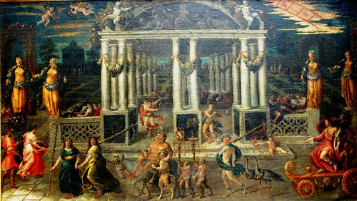 The Festival of Bacchus, from the 18th Century Italian School
