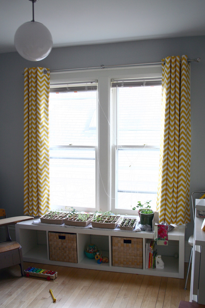 The Finished Curtains