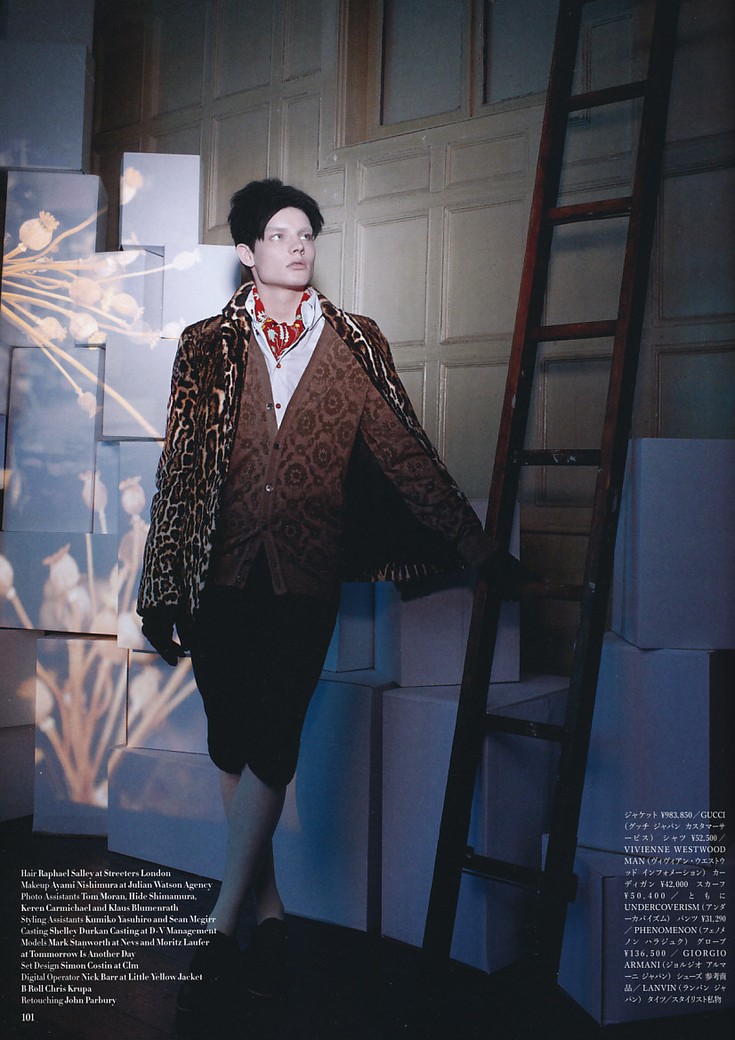 Stanny-Marks Stanworth5004(VOGUE HOMMES JAPAN5)
