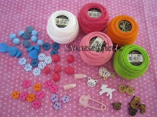 ♥♥♥ Comprinhas!!! Yeah!!! by sweetfelt \ ideias em feltro
