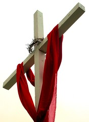 "Happy Easter, y""all (Darwin Bell) Tags: easter cross religion velvet crownofthorns"