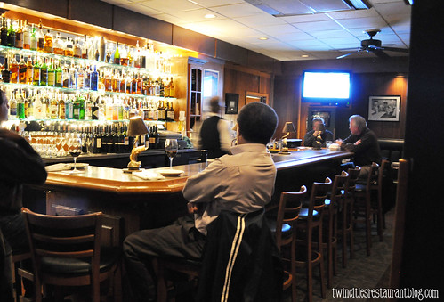 Bar Area at Porterhouse Steaks & Seafood ~ Little Canada, MN