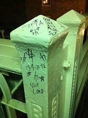 (theres no way home) Tags: chicago graffiti gang gdk slk sdk bdk vicelords mldk mafiainsane