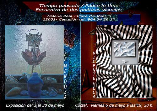 Tiempo PAUSADO Exposicion Galeria Real Castellon by FFMENDOZA -AUSTRALIA