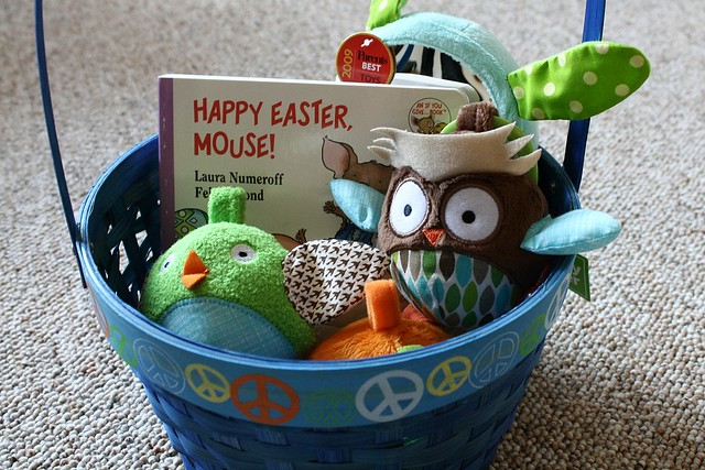 Elliot's first Easter basket