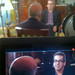 Miles O'Brien on set, Moscow (Dennis Tito Interview)