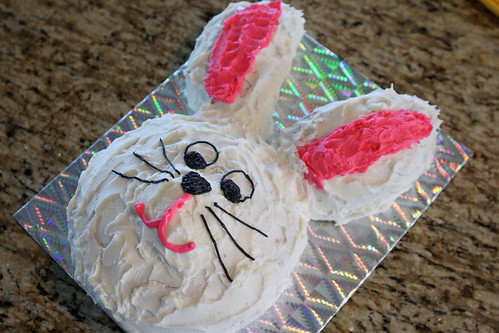 Easter Bunny Cake 2011