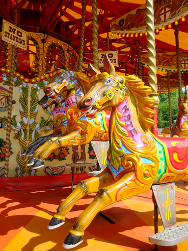 William and Kate Carousel Horses