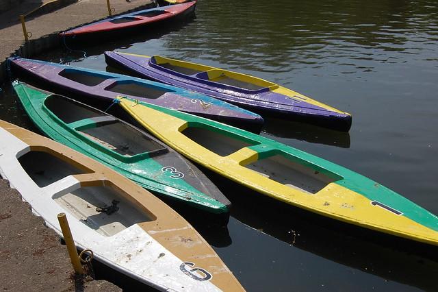 Boats at University Park