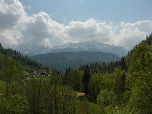 Ausblick vom Forsthaus Graseck