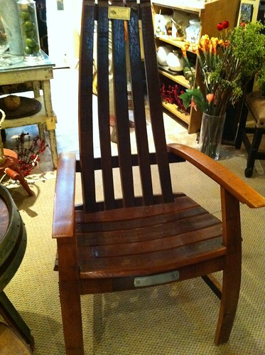 Wine Barrel Rocking Chair Plans Boards to rocking chairs.