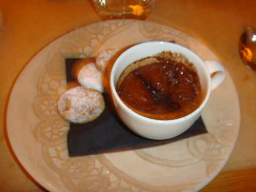White chocolate and Earl Grey Crème Brûlée