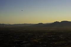 Las Vegas Sunrise (cquigley) Tags: city vegas mountains southwest sunrise cityscape view desert lasvegas nevada helicopter oasis april americansouthwest 2011
