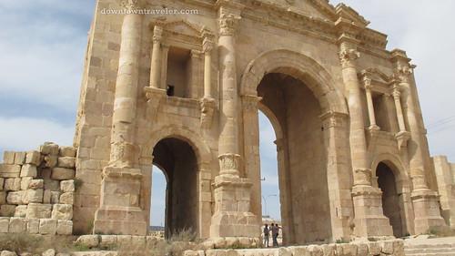 Ruins in Jerash Jordan