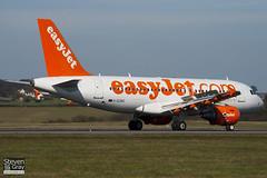 G-EZBO - 3082 - Easyjet - Airbus A319-111 - Luton - 110314 - Steven Gray - IMG_0903