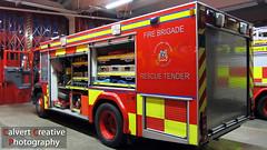 NIFRS / FIRE / Volvo FL250 / Rescue Tender (Calvert Photography) Tags: red volvo firetruck fireengine emergency battenburg 999 fireservice emergencyservices fl250 northernirelandfirebrigade nifrs northernirelandfirerescueservice