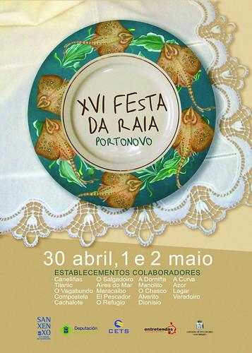 Sanxenxo 2011 - Festa da Raia en Portonovo - cartel