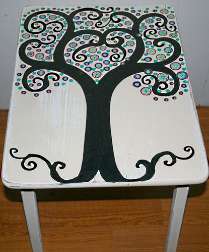 Side Table by Rick Cheadle Art and Designs