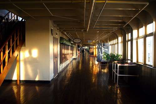 Queen Mary - Promenade Deck