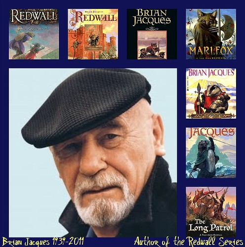 Brian Jacques collage