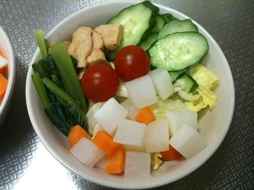 朝食サラダ(2011/5/1)