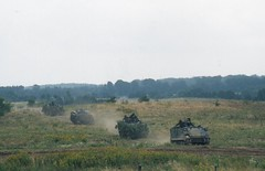 2001-08 Danish M113 Slagelse (Danner Poulsen) Tags: 2001 analog army demo iii scan dk danish vehicle service excercise aug combat apc nato soldat scannede 200108 m113 slagelse hren pmv husar demnark ghr garderhusar antvorskov iiighr amoredpersonnelcarriers