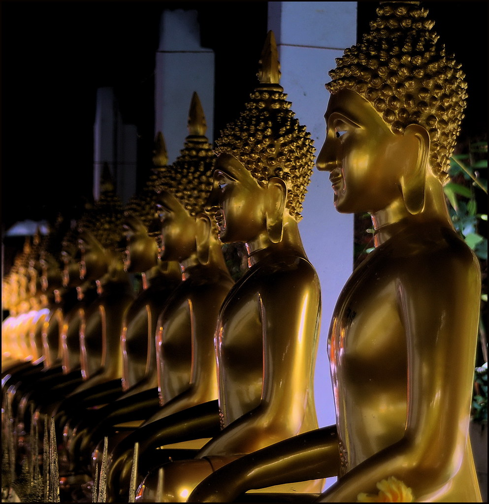 'The Temple of the Four Buddha Footprints'
