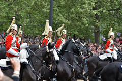 Royal Wedding - 1st Division of the Captain's Escort (SamuelYUI) Tags: wedding cambridge horse london westminster mall captains nikon carriage 1st kate royal marriage duke prince william palace catherine mounted april procession division guards nikkor buckingham f28 escort 29th 70200mm duchess the middleton 2011 vrii d7000 rw2011