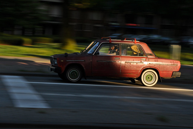 lada on the move