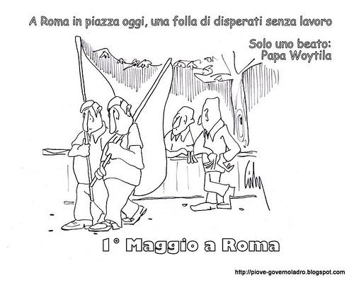 Primo Maggio a Roma by Livio Bonino