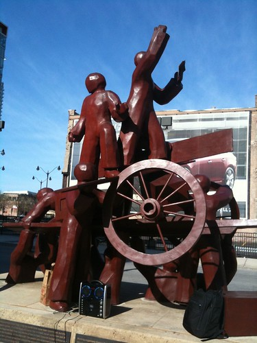 Haymarket Memorial Sculpture