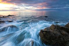 Sunset - Coles Beach - Devonport (jgskinn) Tags: sunset seascape water rocks 7d tasmania 1022mm devonport ndgrad colesbeach