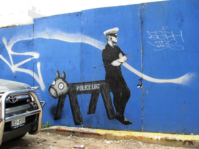 police line (williamsburg)