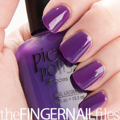 Piggy Polish Yacht-a Yacht-a Nail Polish (The Fingernail Files | www.thefingernailfiles.com) Tags: fingernails nailpolish naillacquer purplejelly purplenailpolish piggypolish jellynailpolish piggypolishpurplenailpolish purplejellynailpolish piggypolishjelly piggypolishpurplejelly