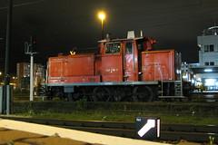 363 446-6, Cottbus (Howard_Pulling) Tags: autumn station night train canon october nightshot gare rail railway bahnhof loco db locomotive 2008 cottbus shunter dbag 363 g9 4466 baureihe363 bahnhofcottbus 363446