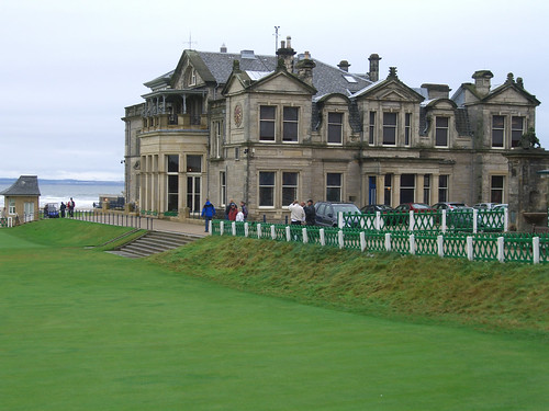 The Royal and Ancient Clubhouse