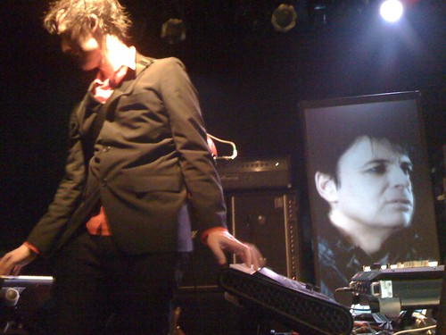 Ian Williams of Battles (with Gary Numan in video on vocals)
