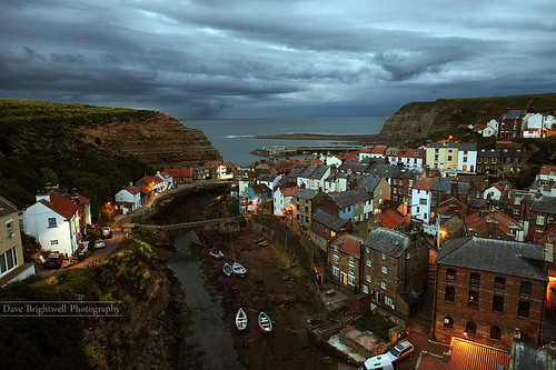 Night Falls On Staithes by jimmypop68