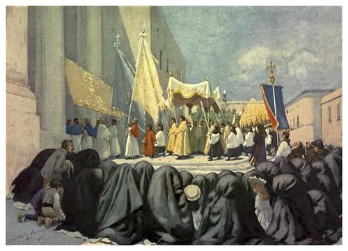 018-Procesion en la fiesta de San Giovanni-Malta 1910- Vittoria Boron