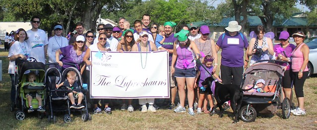 The Luprechauns at Walk for Lupus Now