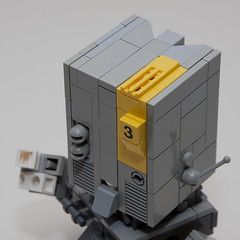 Gilgamech 1.2 (RG&B) Tags: robot lego cube development mecha mech moc gilgamech hardsuite