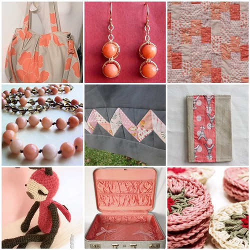 Inspired: Peony, Coral, and Silver