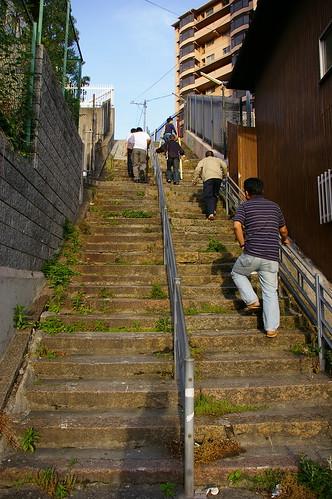 しんどい階段63段